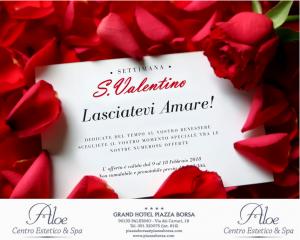 offerte san valentino grand hotel piazza borsa - aloe spa
